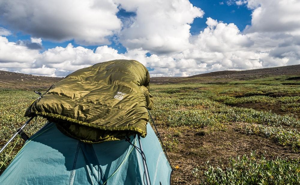 trawers islandii namiot spiwor