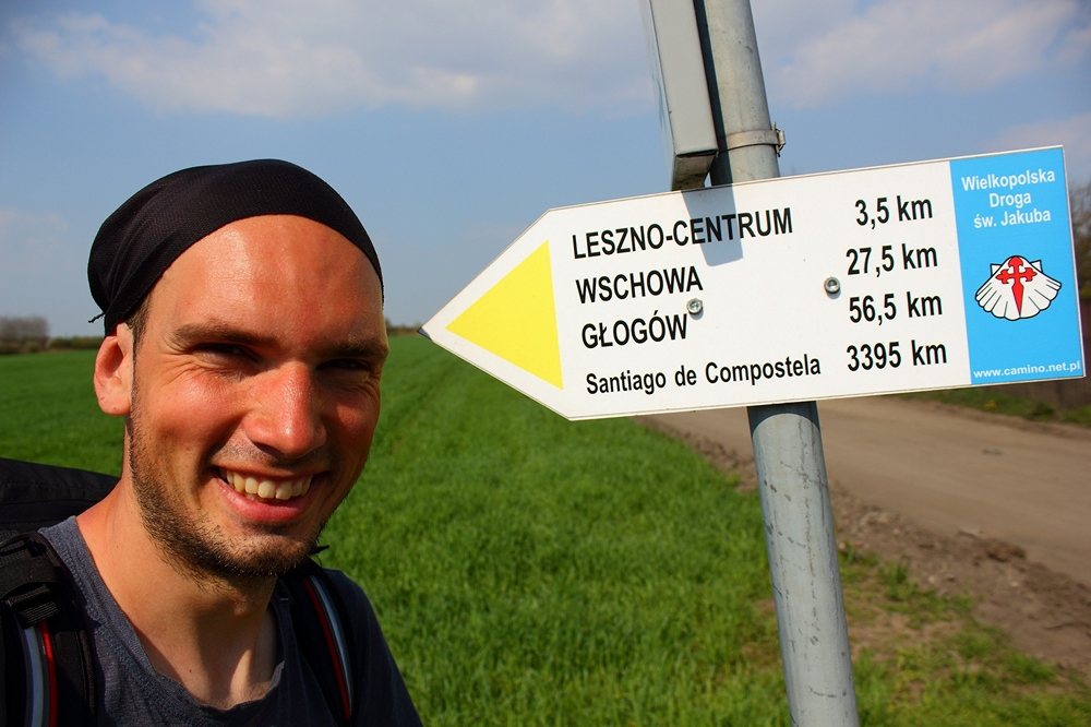 camino poland to santiago