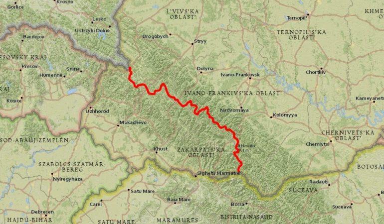 Zimowe przejście Karpat Ukraińskich