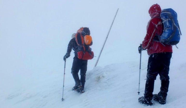 Zestaw ubrań na górską zimę