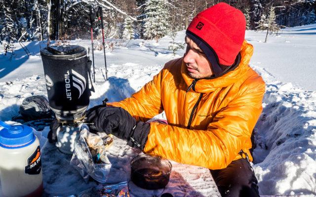 Jetboil MiniMo – zimowy test kuchenki