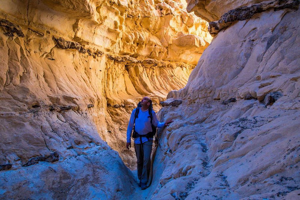 izraelski szlak narodowy kanion wardit barak