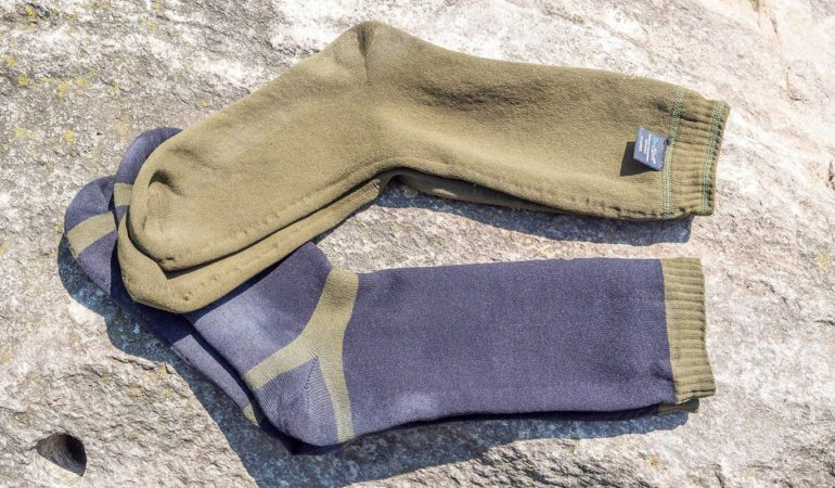 Suchą stopą – test wodoodpornych skarpet Dexshell