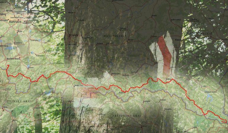 Przejście Głównego Szlaku Beskidzkiego. Cz. 1 – logistyka